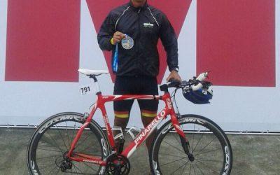 Atleta sanjoanense é destaque em prova de triathlon no Rio de Janeiro