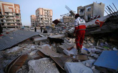 Sobe para 530 o número de mortos após terremoto no Irã