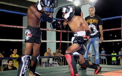Estadual de Muay Thai pela primeira vez, dia 25, em SJB