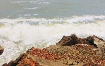Ressaca no litoral fluminense com ondas de até 3 metros vai até sexta, informa Marinha