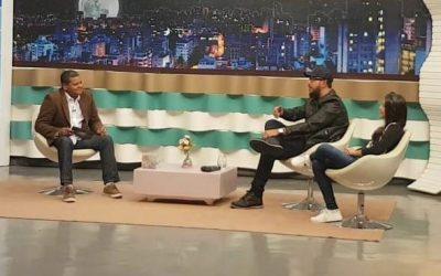 Pai e filha sanjoanenses participam de programa de TV em São Paulo
