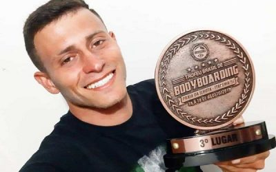 Sanjoanense é 3º colocado no Brasileiro Bodyboarding