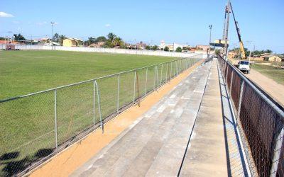Reforma no estádio de Barcelos deverá ser entregue em setembro