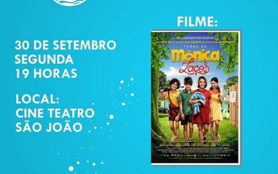 Cine Social nesta segunda no Cine Teatro São João em SJB