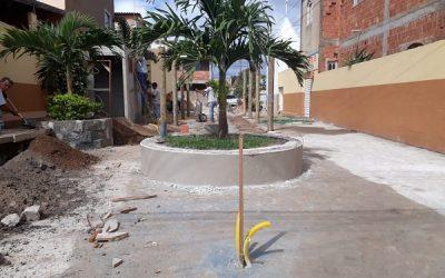 Praça da Chatuba passa por reforma