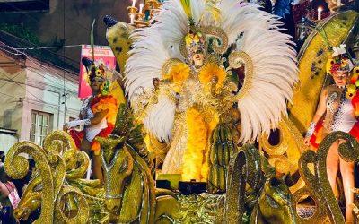 Congos faz carnaval na avenida do samba em SJB