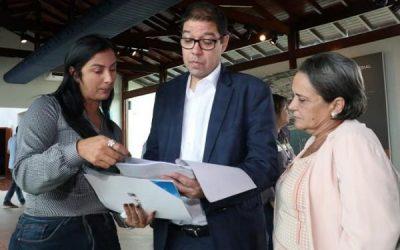 Carla Machado solicita ao secretário de Estado de Ambiente medidas para problemas das chuvas em SJB