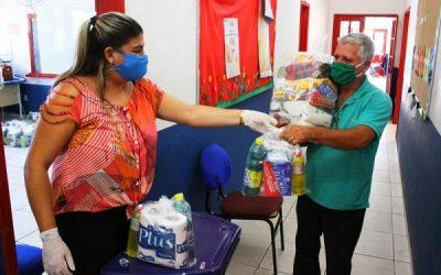 Prefeitura de SJB prossegue com entrega de cestas básicas e kits de limpeza – Confira locais