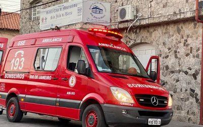 Idoso ferido em acidente em Grussaí