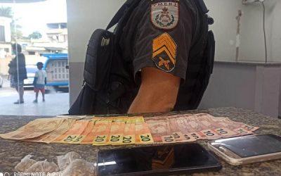Jovens detidos com droga em SJB