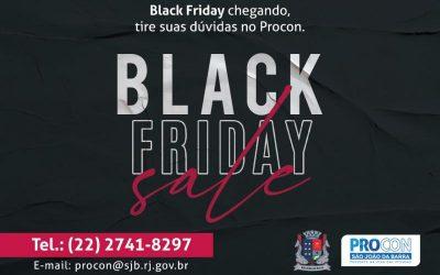 Procon-SJB faz orientações para compras na Black Friday 2020