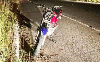 Motoboy ferido após colidir com animal solto em SJB