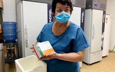 SJB recebe mais 330 doses da vacina Coronavac